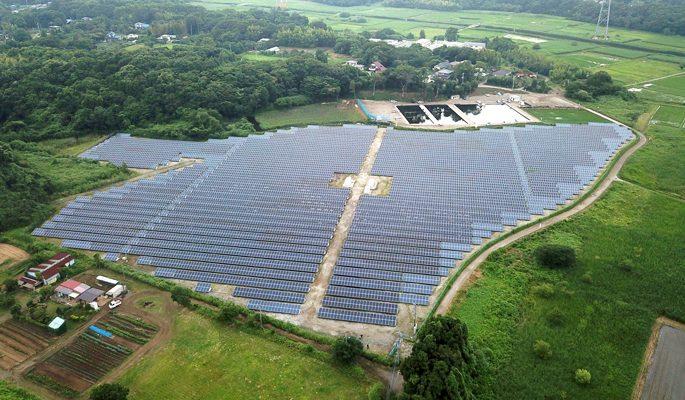 千葉県野田市に所有するメガソーラー発電所