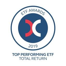 2019年最優秀ETF-トータルリターン賞の受賞者に選ばれたPremia Partners