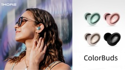 1MORE ColorBuds True Wirelessインイヤヘッドホン