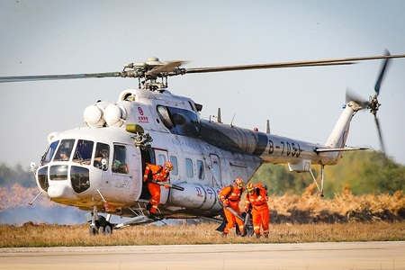 遼寧省が航空消防緊急救助システムの構築を加速