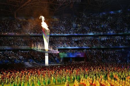 第14回全国運動会が1000年の古都西安で開催