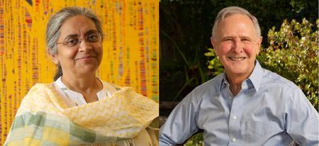 Yidan Prize受賞のRukmini Banerji博士とEric A. Hanushek教授