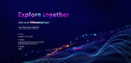 Absenが最新のLEDディスプレーソリューションをInfoComm 2021に展示