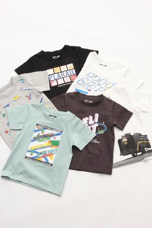 グローバルワーク コラボデザインTシャツ