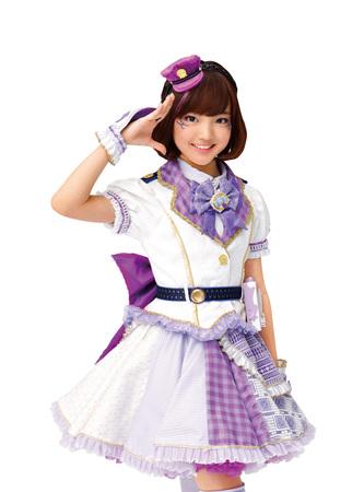 紫原サライ(しはらさらい・ラブパトパープル):山口莉愛(やまぐちりな)