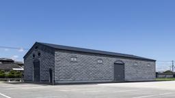 宝酒造「宮崎・日向 黒壁蔵」に新設された石蔵