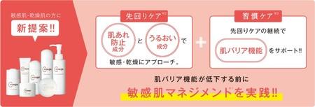 「コラージュリペア」の新アンサー!敏感肌マネジメント