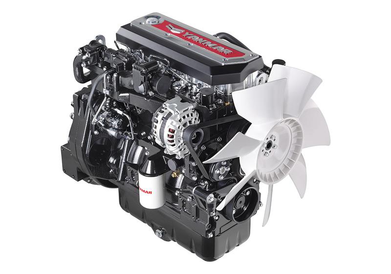 yanmar introduces two high power industrial diesel engines yanmar