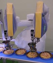 食材トッピングロボット 「ニトロン」
