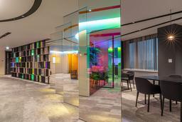 オカムラの新オフィス「HEADQUARTERS OFFICE」を公開