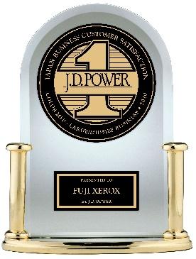 富士ゼロックス「J.D. パワー2020年カラー複合機顧客満足度調査SM」でNo.1評価