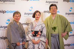 "World Premiere of Japanese Costume Drama ""Kikyo - The Return,"" Produced by Samurai Drama Channel.."