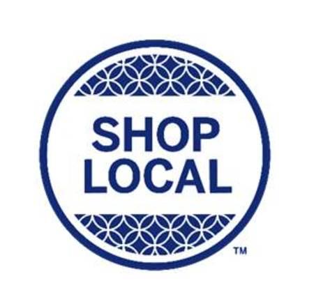 「SHOP LOCAL(R) 」ロゴ