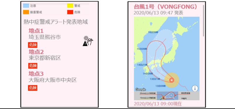 多言語災害情報配信サービス『防災クラウド』に 熱中症情報と台風情報を追加しました!