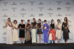 「VOGUE JAPAN Women of the Year 2014」「VOGUE JAPAN Women of Our Time」受賞者発表