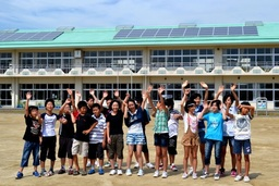 All Four Schools Receiving Coca-Cola Japan Reconstruction Fund Grants in Shinchi, Fukushima, Complet