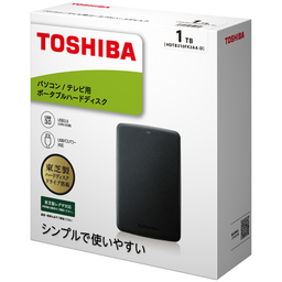 TOSHIBA_ポータブルHDD
