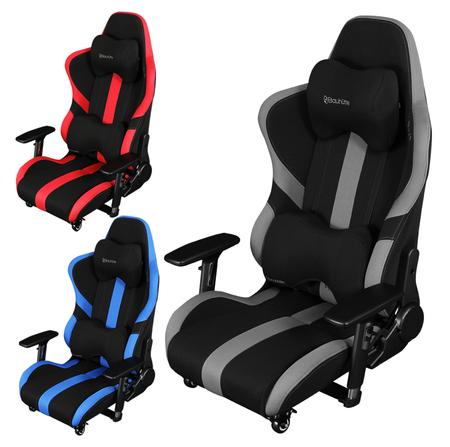 高密度モールドウレタンを採用したので座り心地が良く、ベストポジションを維持する「ゲーミング座椅子」。