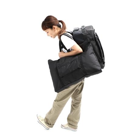 バックパック+アウターバッグのスタイル。