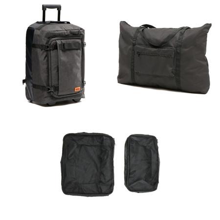 フォルダブルスーツケースの全容画像。