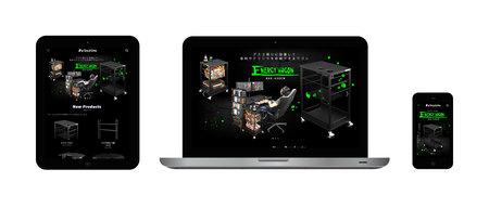 PC・スマホ・タブレット、すべてのデバイスに最適化。