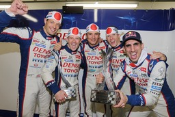 Toyota Hybrid Technology Takes World Endurance Championship -Toyota Thanks Fans for Support