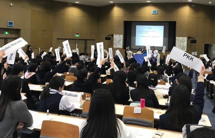 公文国際学園>中高生による「模擬国連インターナショナル」を開催し ...