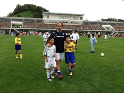 Ex-J.League Players Invite Former Italian Footballers for Regional Exchange Event in Fukushima