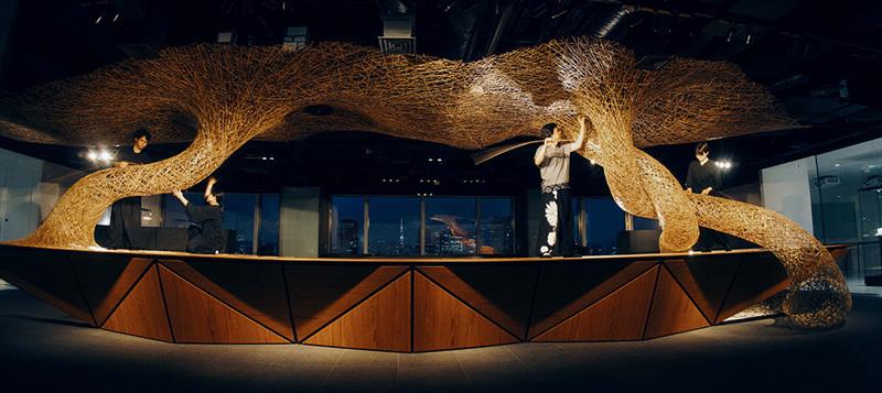 丹青社が竹工芸家・四代田辺竹雲斎とともに新たな工芸体験空間を具現化する共創プロジェクトを始動