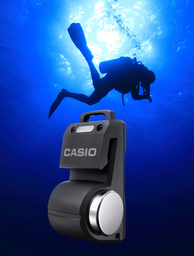 Casio Develops Pocket-Sized Transceiver for Scuba Diving Use