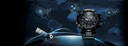 Casio Introduces New G-SHOCK - World's First Watch* That Receives GPS and Radio Wave Signals