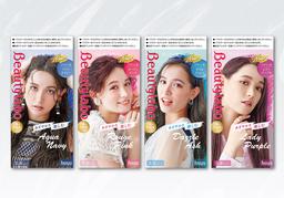 「ビューティラボ バニティカラー」からあざやかな髪色楽しむデザイン系カラー新色4色が登場!!