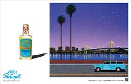 日本を代表するイラストレーター永井博氏 新規広告作品発表(オーデコロン4711)