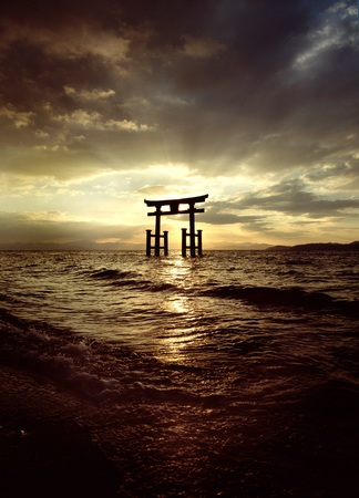 白鬚神社(滋賀県高島市) 写真:小林 修(朝日新聞出版)