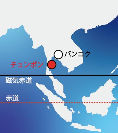 図2 タイ・チュンポンの位置