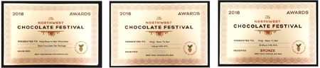 Northwest Chocolate Festival Award
