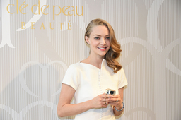 Brand Muse Amanda Seyfried Visits Japan for SHISEIDO Cle de Peau Beaute Press Conference on New...