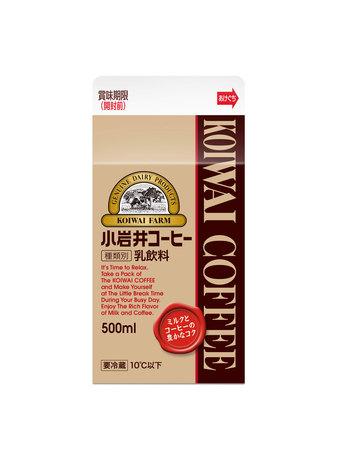 「小岩井 コーヒー」500ml、「小岩井 コーヒー マイクロパック」2018年3月27日(火)新発売