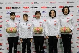 日本代表チームとなったLOCO SOLAREの選手の皆さん