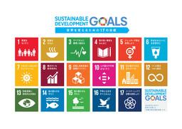 国連SDGsロゴ(17の目標)