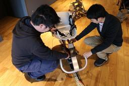 クラスター研究室で取り組むチェアスキーの開発