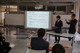 2018年夏に実施したインターンシッププログラムの模様(成果発表会)