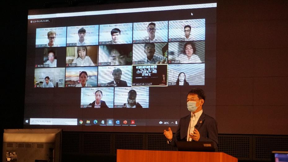 越日工業大学(ベトナム)と金沢工業大学の学生がペアを組み、日本企業でインターンシップをオンラインで実施