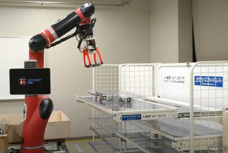ロボティクス学科と三協立山(株)タテヤマアドバンス社がロボットが操作する次世代スライド棚の共同研究開始