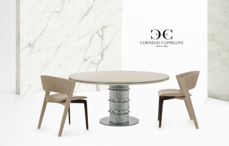 「クリオ」テーブルと「リスボナ」チェア