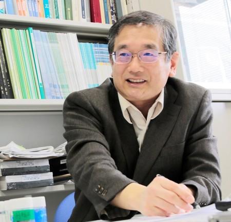 生命科学部 応用生物科学科 角野立夫 教授2