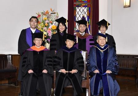 井上禮之 ダイキン工業株式会社会長に名誉文化博士の学位を贈呈