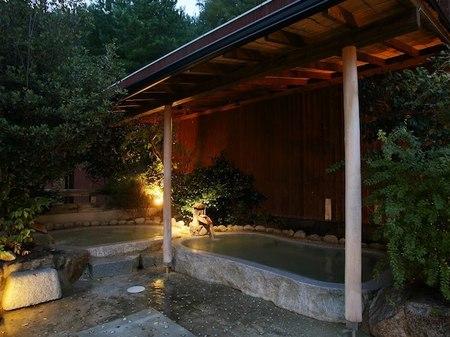 るり渓温泉 露天風呂