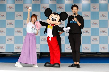 『ディズニー・オン・アイス LIVE YOUR DREAMS』 スペシャルサポーター中川翔子!始球式に登場!