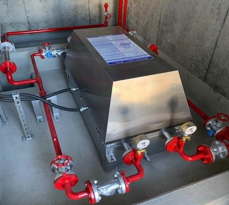 浸水対応送油ポンプ